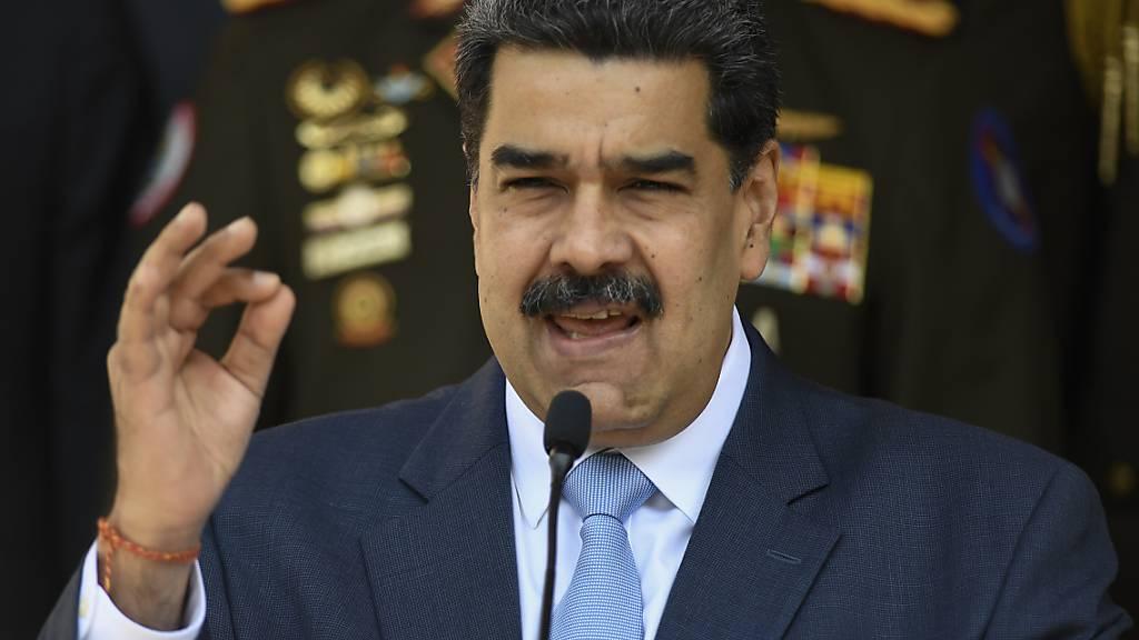 Maduro verkündet Festnahme von amerikanischem Spion in Venezuela