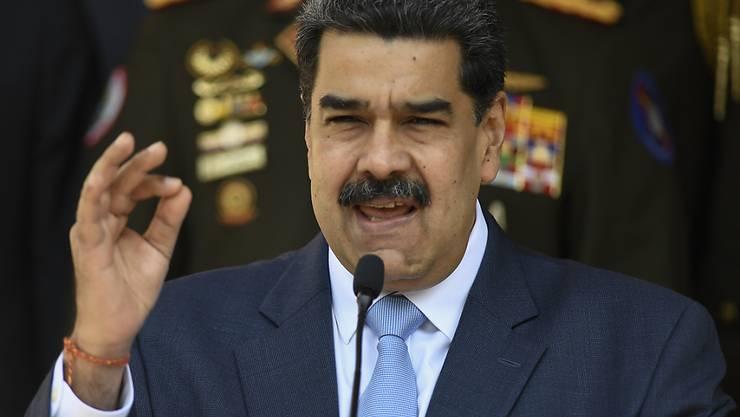 Der Präsident von Venezuela, Nicolas Maduro, hat laut eigenen Angaben einen amerikanischen Spion verhaften lassen. (Archivbild)