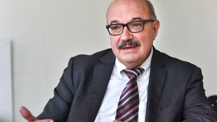 Kurt Henzmann stand in Niedegösgen zur Wahl, wurde aber nicht gewählt.