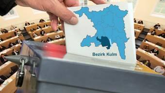 Wahlen Bezirk Kulm