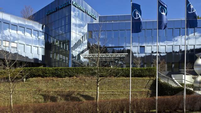 Hauptsitz von Kühne + Nagel in Schindellegi (Archiv)