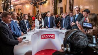 Ab nächster Woche im Fokus des Parlaments: Die Zukunft des öffentlich-rechtlichen Radios und Fernsehens.