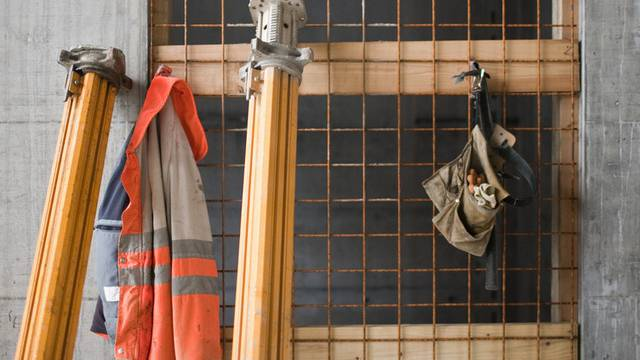 Das Baugewerbe verlor im Dezember an Schwung