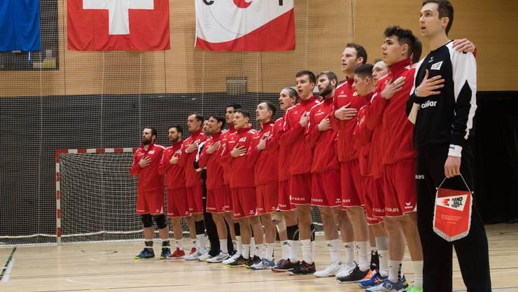 Die Spieler der Schweizer Nationalmannschaft sind an der Handball-WM in Ägypten dabei. (Archiv)