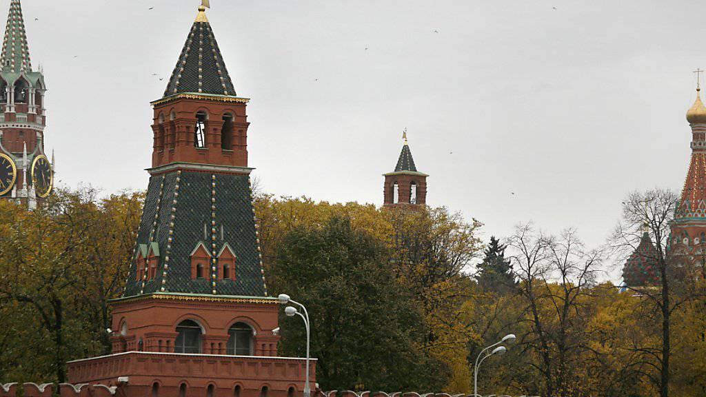 Archäologen erhoffen sich durch die Abrissarbeiten Einblicke in die Geschichte der Festung am Roten Platz.