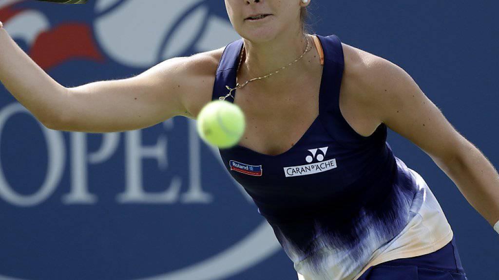 Gegen Johanna Konta völlig chancenlos: Belinda Bencic