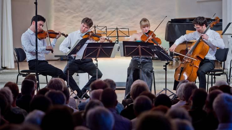 Der 14. Boswiler Sommer ist am Samstag eröffnet worden: Hier werden die Festivalkünstler im Ensemble zu Stars.