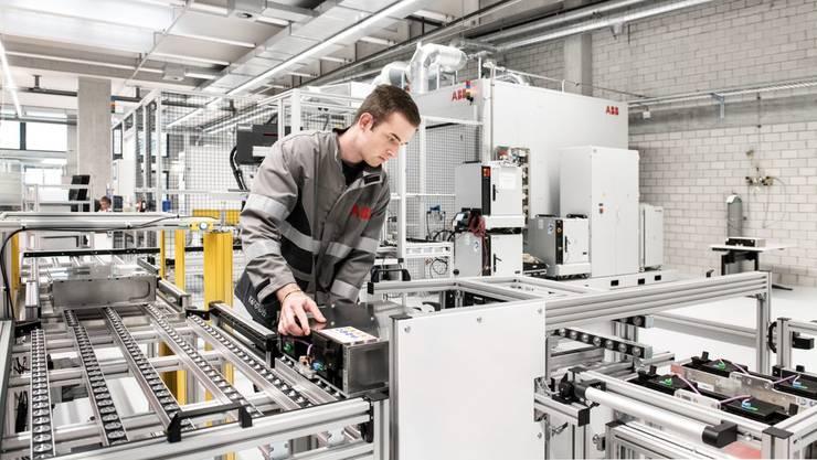 ABB Schweiz produziert Batterien für die Elektromobilität.