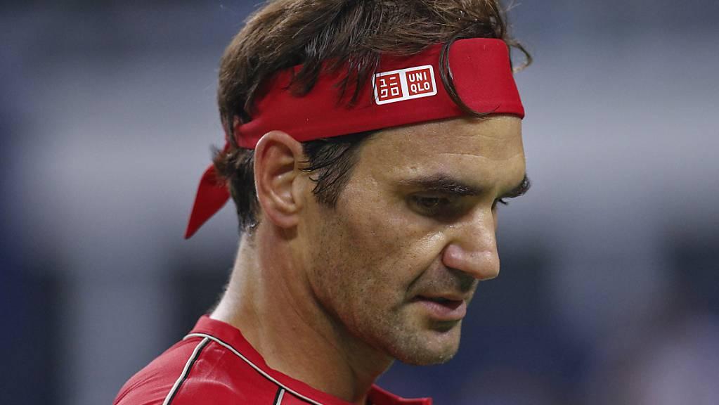 Was für ein Auftritt: Roger Federer brauchte am Eröffnungstag der Swiss Indoors nur gerade 52 Minuten, um in die zweite Runde einzuziehen.