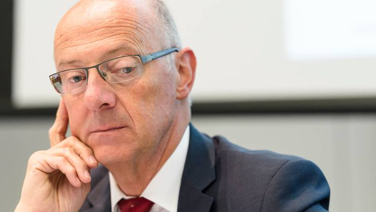 Immer kontrolliert und souverän: Hans Ziegler zeigte bei seinen Auftritten selten eine Schwäche. Im Bild ist er 2014 als Präsident von Swisslog zu sehen.