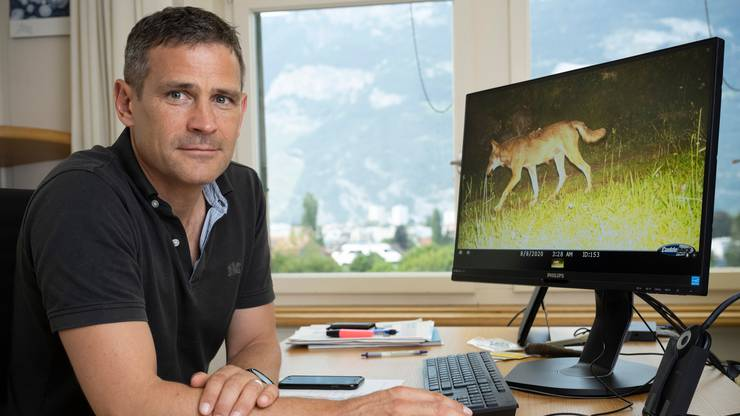 Adrian Arquint in seinem Büro.