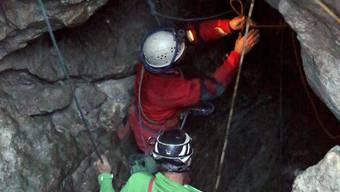 Höhlendrama im Riesending-Schacht