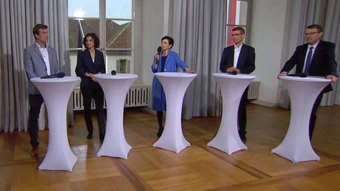 Die Aargauer Parteipräsidenten analysieren den Wahlsonntag.