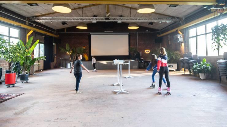 Die «Giessi» in Derendingen wurde zum Event-Lokal umfunktioniert.