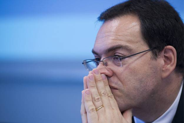 29. Novermber 2013: Andreas Albrecht, Präsident des BKB-Bankrats, tritt zurück