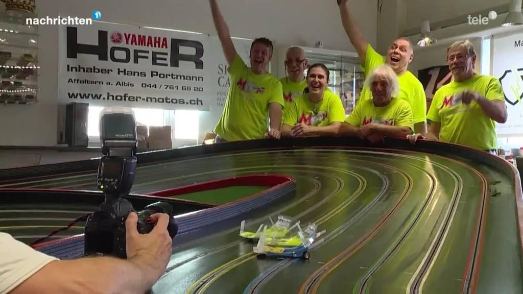 Zweiter Weltrekord im Slotracing in Mettmenstetten