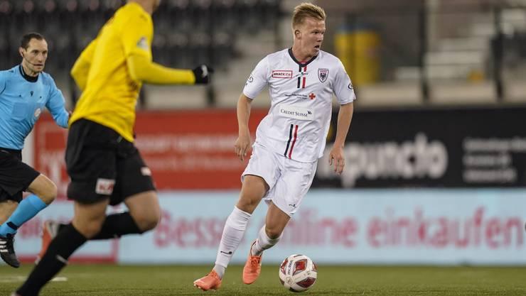 Mats Hammerich zeigt beim FC Aarau überzeugende Leistungen.