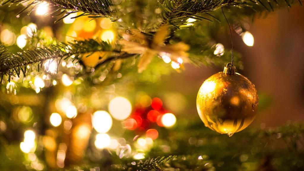 Beleuchteter Weihnachtsbaum führt zu Leiche