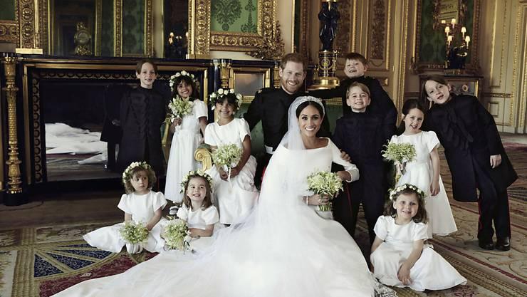 Eines der offiziellen Hochzeitsfotos von Prinz Harry und Herzogin Meghan.