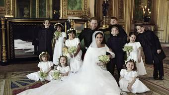 Harry und Meghan: Die drei offiziellen Hochzeitsfotos