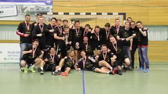 Die U19-Elite ist Schweizer Meister 2015/16.