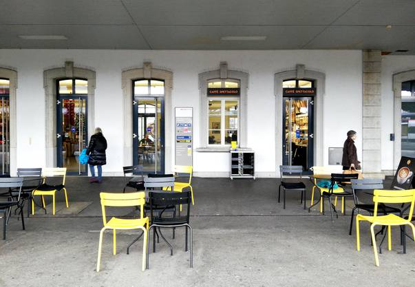Auch das Spettacolo blieb von 5.30 bis 7.15 Uhr geschlossen. Man befürchtet eine Einbusse von 500 bis 6000 Franken.