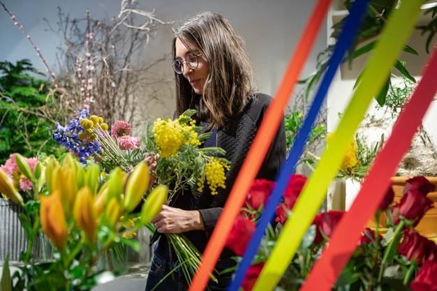 «Die Auswahl ist eine enorme Wertschätzung», sagt Angela Kaspar. Die Meisterfloristin stammt ursprünglich aus dem Wynental.