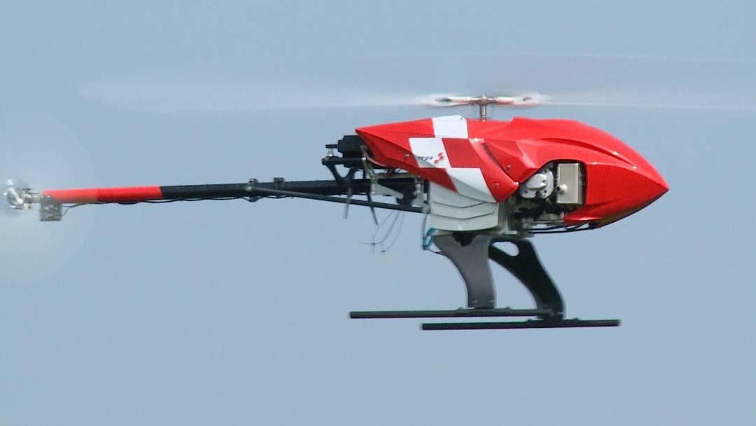 Rega-Drohne soll Leben retten