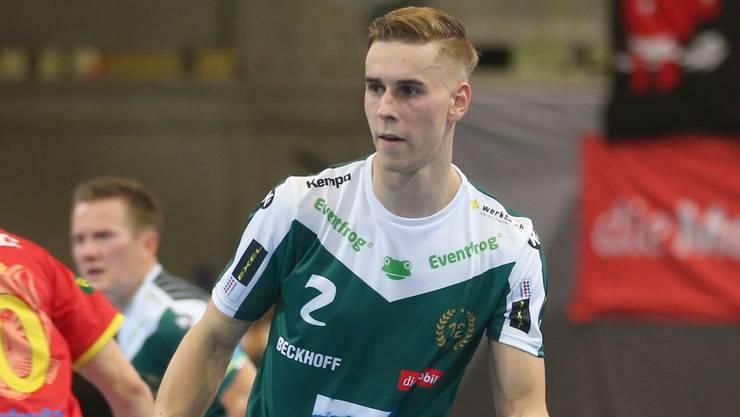 Nicola Bischofberger im Einsatz für Wiler-Ersigen.