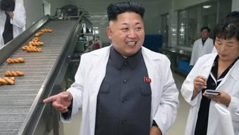 Einer der operettenhaften Auftritte von Nordkoreas Willkürherrscher