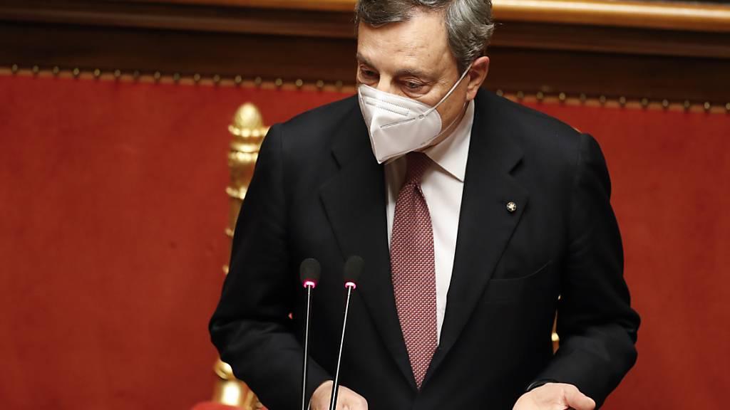 Italiens neuer Premier Draghi vor zweiter Vertrauensabstimmung