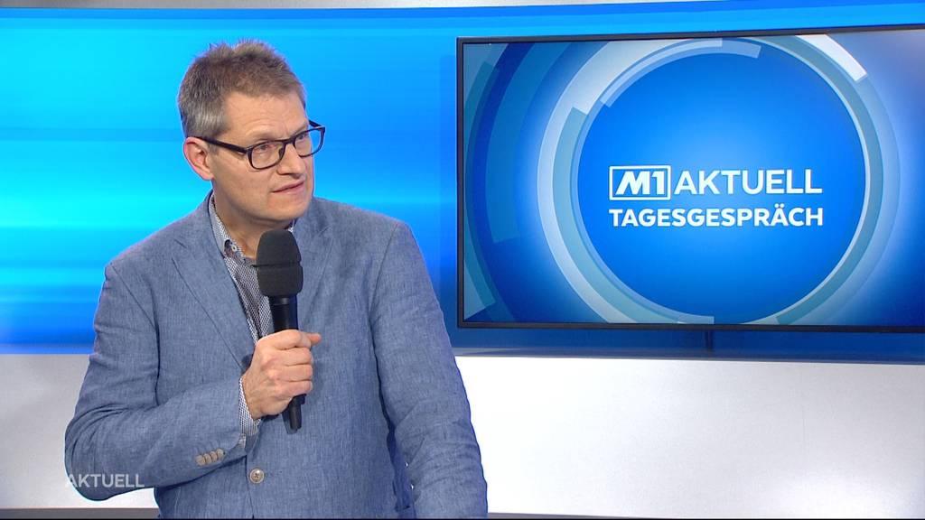 Christoph Fux über das Zuwarten mit weiteren Corona-Massnahmen im Aargau