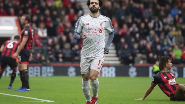 Die Show von Mohamed Salah bei Bournemouth