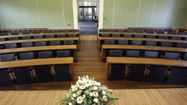 Blick in den Saal des Zuger Kantonsparlaments (Archiv)