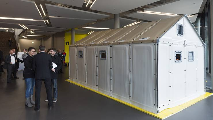 Ein Ikea-Haus von aussen
