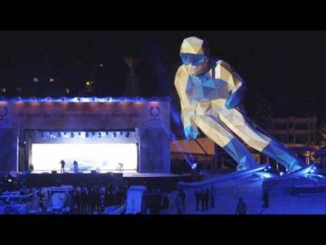 Die Geschichte von Skifahrer Edy