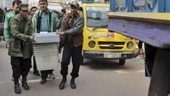 Wahlvorbereitungen in Dhaka