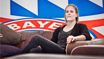 Vanessa Bürki, Schweizer Fussballerin aus Grenchen beim FC Bayern München.