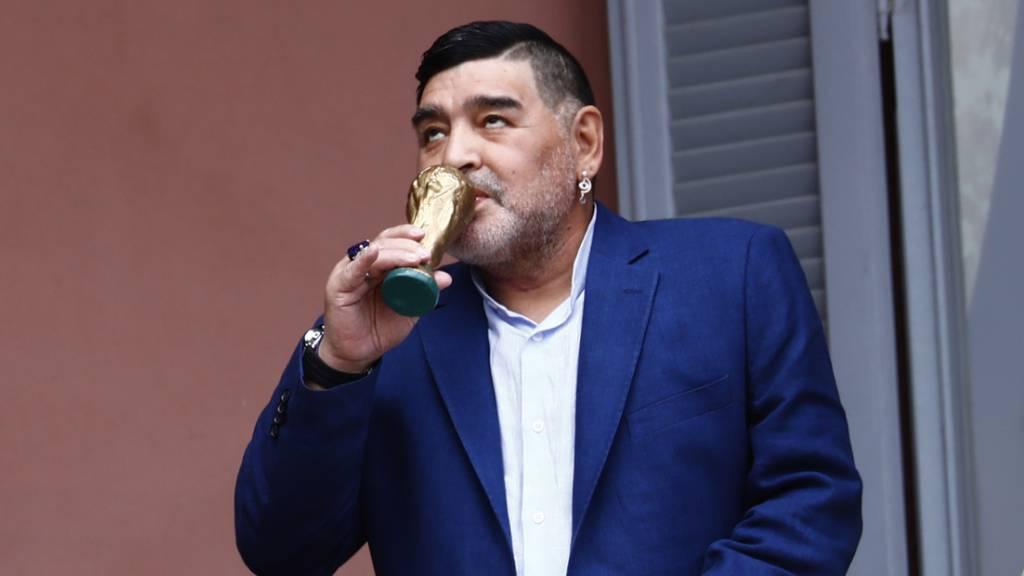 Maradona muss wegen Hirnblutung operiert werden