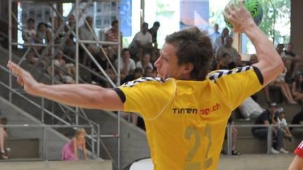 RTV Basels Spielmacher Rok Ivanic zeigte ein sehr gute Leistung