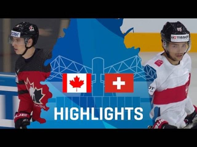 Highlights Eishockey-WM 2017 Kanada-Schweiz