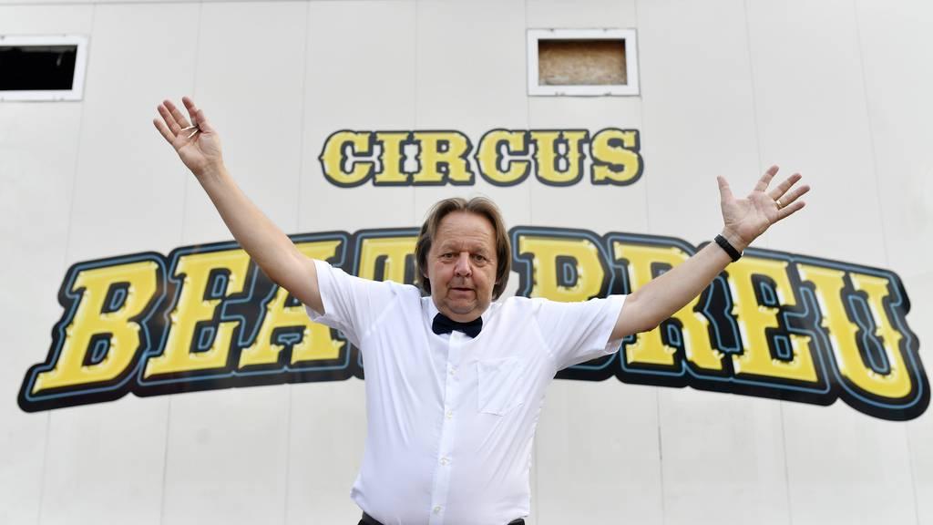 Beat Breu gibt seinen Traum vom Zirkus nicht auf