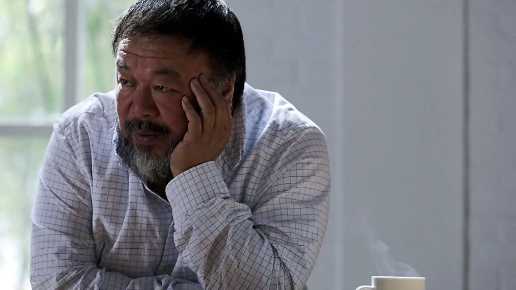 Der chinesische Künstler Ai Weiwei will auf der griechischen Insel Lesbos ein Monument aufstellen für die im Meer ertrunkenen Flüchtlinge. (Archiv)