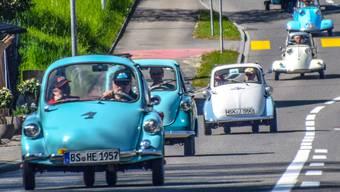 Impressionen vom Aargauer Microcar-Treffen 2018.