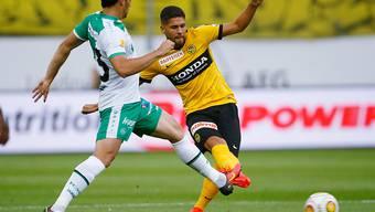 Leonardo Bertone und die Young Boys wollen dafür sorgen, dass es der FCB im Meisterrennen nicht zu einfach hat.