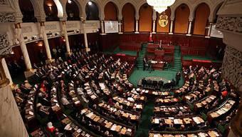Die verfassungsgebende Versammlung in Tunis verabschiedet Übergangsverfassung