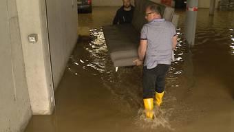 Besonders hart traf es die Gemeinden Hendschiken, Othmarsingen und Wildegg. Betroffene berichten.