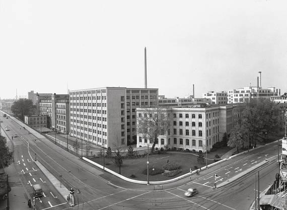 Ecke Dreirosenstrasse-Klybeckstrasse, 1958