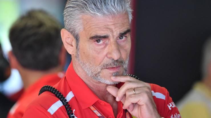 Soll abgelöst werden: Ferraris Teamchef Maurizio Arrivabene