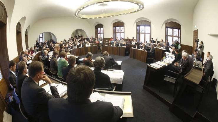 Sparmassnahmen haben es schwer im Solothurner Kantonsrat. (Archiv)